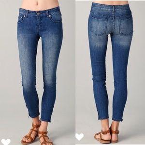 Free People | Ankle Zip Skinny Jeans 28